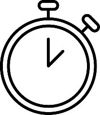 Icone pictograme horloge